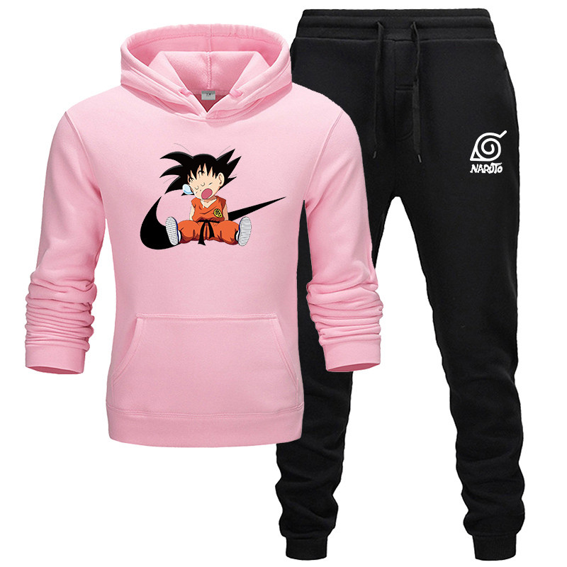 Winter And Autumn Men's Hoodie Sweatshirt Jacket And Jogger Sports Pants Men's Printing Suit Sportswear Track And Field Clothing