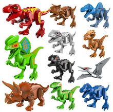 NUOVO Jurassic World Indominus Rex Indoraptor Speciale Dinosauri Modello Building Blocks Enlighten Action Figure Giocattolo Per I Bambini(China)