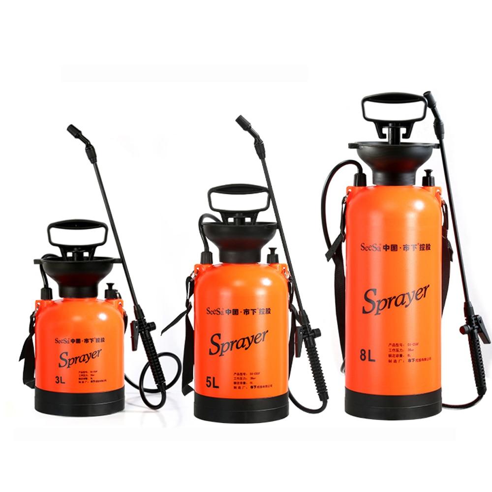 Pressure Sprayer Air Compression Pump Pressure Sprayers Outdoor Plant Flower Watering Spray  For  Garden Tool