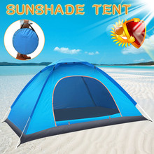 Automatic Camping Tent with UV Protection 2020 Open Tent Portable Waterproof Tent Outdoor,Family Tourist,Camping Sun Shade Tent automatic instant pop up beach tent lightweight outdoor uv protection camping fishing tent cabana sun shelter
