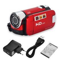 Vlog Camera 720P Full HD 16MP DV Camcorder Digital Video Camera 270 degree Rotation Screen 16X Night Shoot Zoom Digital Zoom