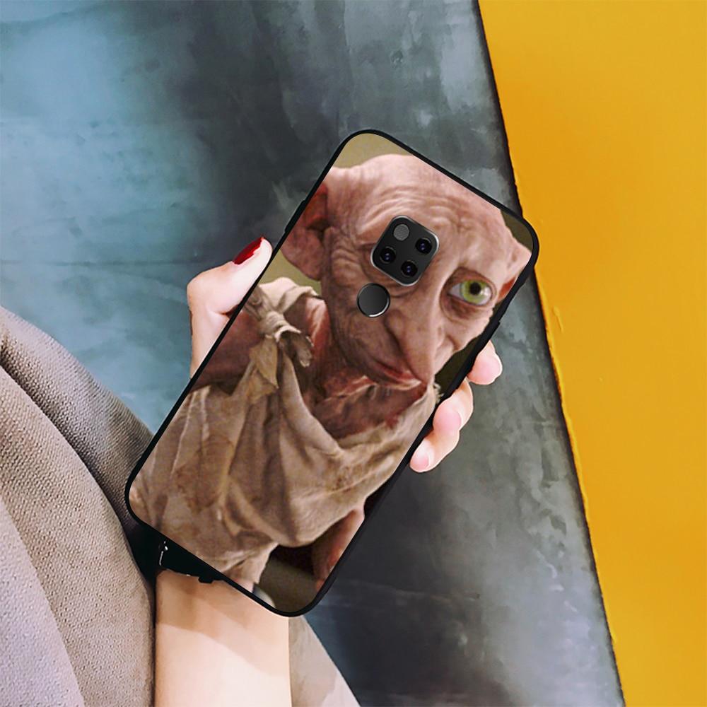 NBDRUICAI film zgredek pokrywa czarny miękka skorupa etui na telefony dla Huawei Honor 10 9 8 8x 8c 9x 7c 7a Nova 3 3i Lite Y9 Y7 Y6