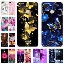 Silicone Cover For Xiaomi Redmi 6 Case 5.45' Cute Cat Animal Printing Phone Shells for Xiao mi Xiomi Redmi 6 Redmi6 Fundas Coque все цены