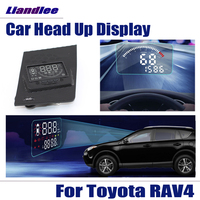 Car Accessories HUD Head Up Display For Toyota RAV4 2019 2020 Data Projector Windshield Full Function Safe Driving Screen