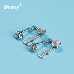 Denxy 30pc Higher Quality Dental equipment Orthodontic attachment multi-hook monoblock bondable orthodontic arms ortho brackets