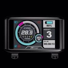 Новейший цветной TFT UCK1 дисплей с USB разъемом для контроллера Sabvoton