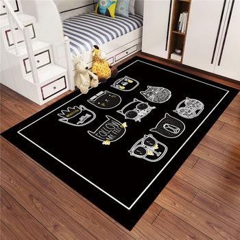 European style Carpet Kids Room Soft Carpet Bedroom Rectangle Carpets For Living Room Sofa Coffee Table Rug Child Play Floor Mat tanie i dobre opinie Mechanicznej wash Pranie ręczne Other Domu Hotel Camping Podróży Drzwi Łazienka Dorosłych Inne Anti-Slip fsdafasdg