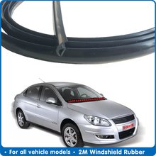 Sunroof-Seal-Strips Dashboard Rubber-Seal Windshield Dustproof Rear Front 2M for Car