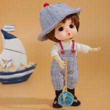 Nova chegada dollbom nita 1/8 bjd sd yosd boneca de alta qualidade bonito menina brinquedos melhor presente natal lcc