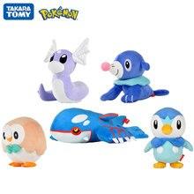 Оригинальные игрушки покемон kawaii pikachu мультяшный попплио