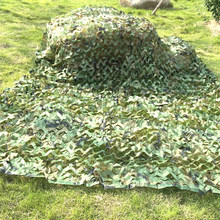 1.5x 6m/2x 5m/2x 6m/5x3m Camping Camouflage Net armée forêt Jungle Camouflage filets chasse tir cacher filet soleil abri voiture tente(China)