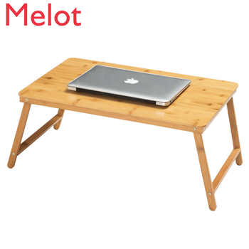 European Trojan Folding Laptop Desk Bed With Small Table Dormitory Lazy Simple Desk Study Table - SALE ITEM All Category