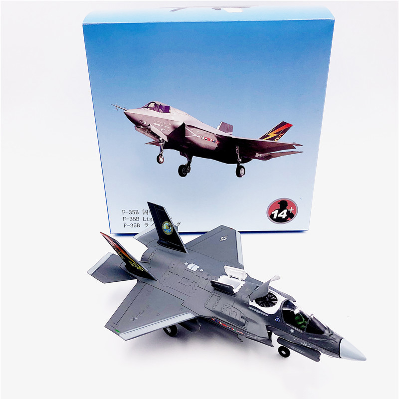 1:72 1/72 Scale US Army F-35 F-35B F35 Lightning II Joint Strike Jet Fighter Diecast Metal Plane Aircraft Model Children Toy