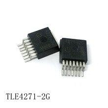 Regulador de tensão Linear TLE4271-2G TO-263-7 550mA/5V 10 unidades/lotes novo em stock