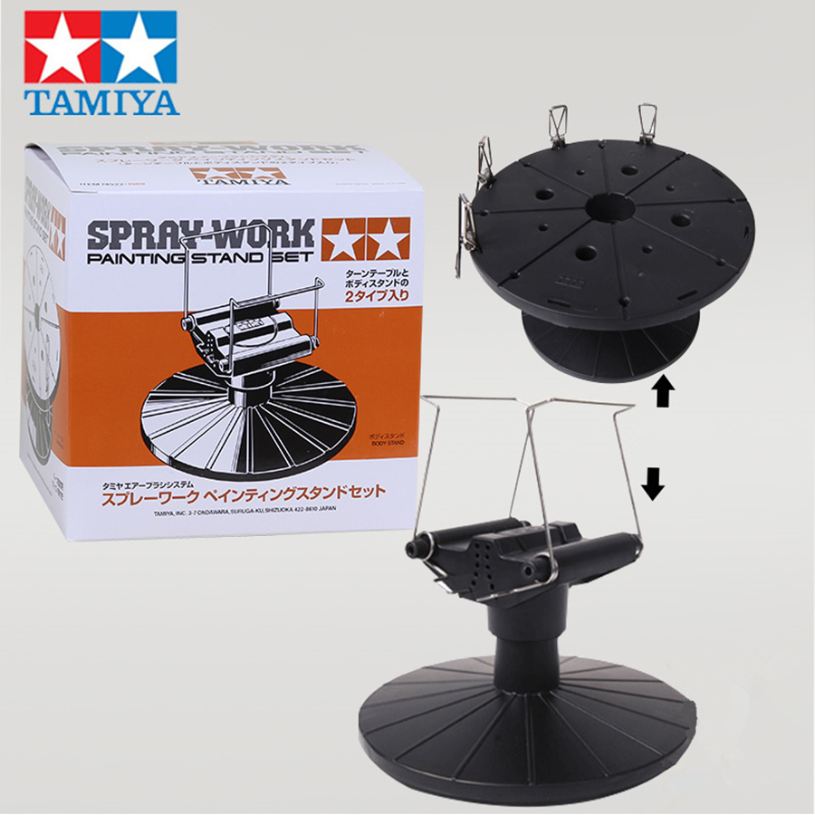 Tamiya 74522 Model Toys Car Spray-Work Painting Stand Set Hobby Painting Tools Accessory