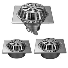 Floor-Drain Garden Deodorant Balcony Blockage Outdoor-Anti-Leaf 304-Stainless-Steel Displacement
