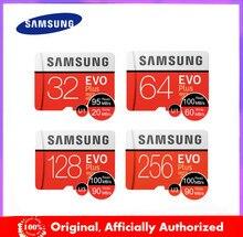 SAMSUNG – carte Micro SD EVO Plus, 64 go/32 go/128 go/256 go/512 go, classe 10, TF