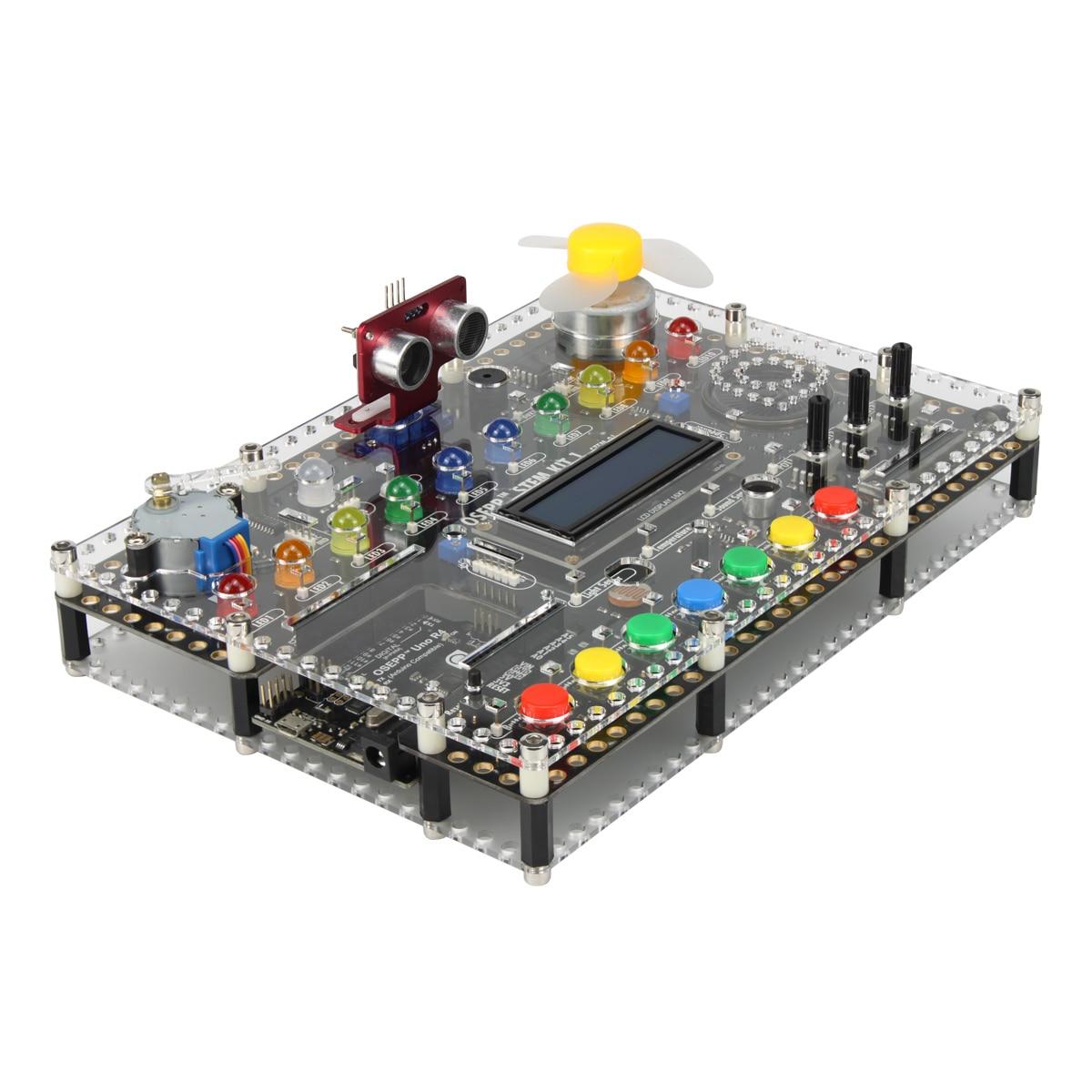 Osepp Stem Hub Alles In Een Geïntegreerde Ontwikkelomgeving-Arduino Start Kit Voor Programmering Elektronische Beginer 3