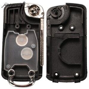 Image 5 - Jingyuqin 20 個 2 ボタン変更されたフリップ車のキーケースのためのC1 C2 C3 xsaraピカソプジョー 206 306 307 407 406