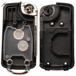 Image 5 - Jingyuqin carcasa de llave de coche con tapa modificada para Citroen C1, C2, C3, Xsara Picasso, Peugeot 206, 306, 307, 407, 406, 2 botones, 20 piezas