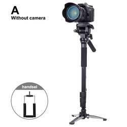 Camera Monopod Kit Telescopic Video Monopods Aluminum Alloy Stand for DSLR Video Cameras Camcorders SP99