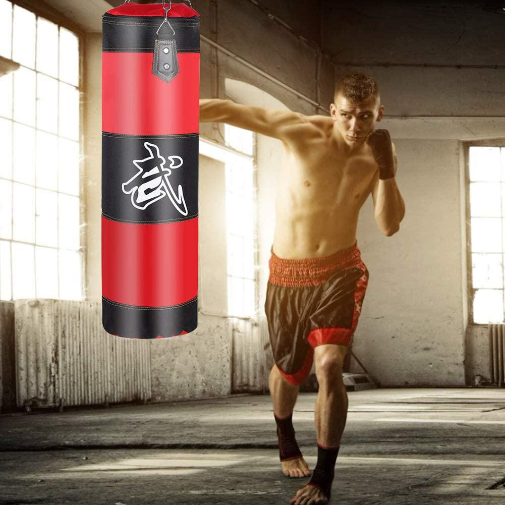 Empty Boxing Sand Filling Bag Thicken Strength Training Fitness Exercise Punch Bag Boxing Training Fight Karate Sandbag