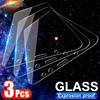3Pcs Tempered Glass On The For Honor X10 9S 9A 9C 9X 8A 8C 8S 8X Screen Protector For Honor 7A 7C 7S 7X V30 V20 X10 20S 30S Film