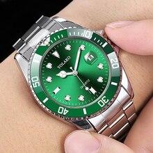 2020 Man Watch YOLAKO Luxury Fashion Green Watch Me