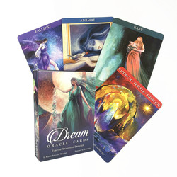 Dream Oracle Cards Mysterious Table Game Cards With PDF Guidebook Family Party Game Board Game Tarot Card Deck