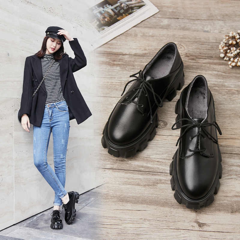 Fashion Formal Women Leather Shoes