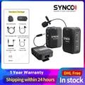 Беспроводная петличная микрофонная система SYNCO G1 G1A1 G1A2 для смартфона ноутбука DSLR планшета видеокамеры рекордера pk comica