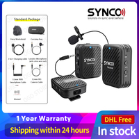 SYNCO G1 G1A1 G1A2 Wireless Lavalier-mikrofon Mikrofon System für Smartphone Laptop DSLR Tablet Camcorder Recorder pk comica