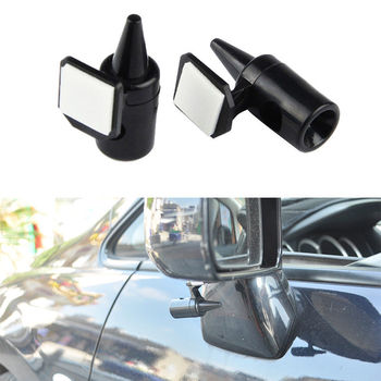 2pcs Deer Warning Whistles Car-styling for BMW X1 X5 F15 X6 F16 1 2 5 7 Series 2016 2017 2018 image