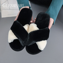 Women Slippers Indoor Shoes Comfortable Home Slippers Mixed Colors Soft Winter Slippers Warm Plush Casual Shoes 2019 DE halluci elegant pink diamond home slippers shoes women casual indoor soft winter keep warm women slippers pantufa
