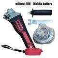 100 мм 18 бесщеточным двигателем Беспроводной воздействия Угловая Шлифовальная головка инструментов без Батарея 100-240 В переменного тока  50/60Hz...
