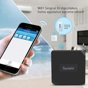 Image 4 - SONOFF Bridge RF 433MHZ Wifi Wireless Replacement DW1 Door Window Sensor PIR2 Motion Sensor Alarm System Security Home Google
