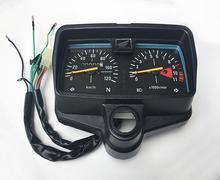 E0175 Motorcycle Speedometer Tachometer Instrument For Honda WH125 3 CG125 EUR 2 Odometer Gear Digital Display