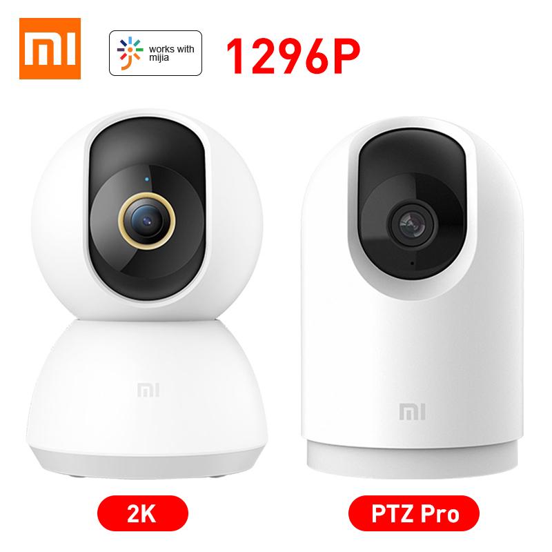 Xiaomi Mijia IP Camera 2K PTZ Pro 360 Angle Baby Monitor CCTV WiFi Video Webcam Night Vision Wireless MI Home Security Cameras