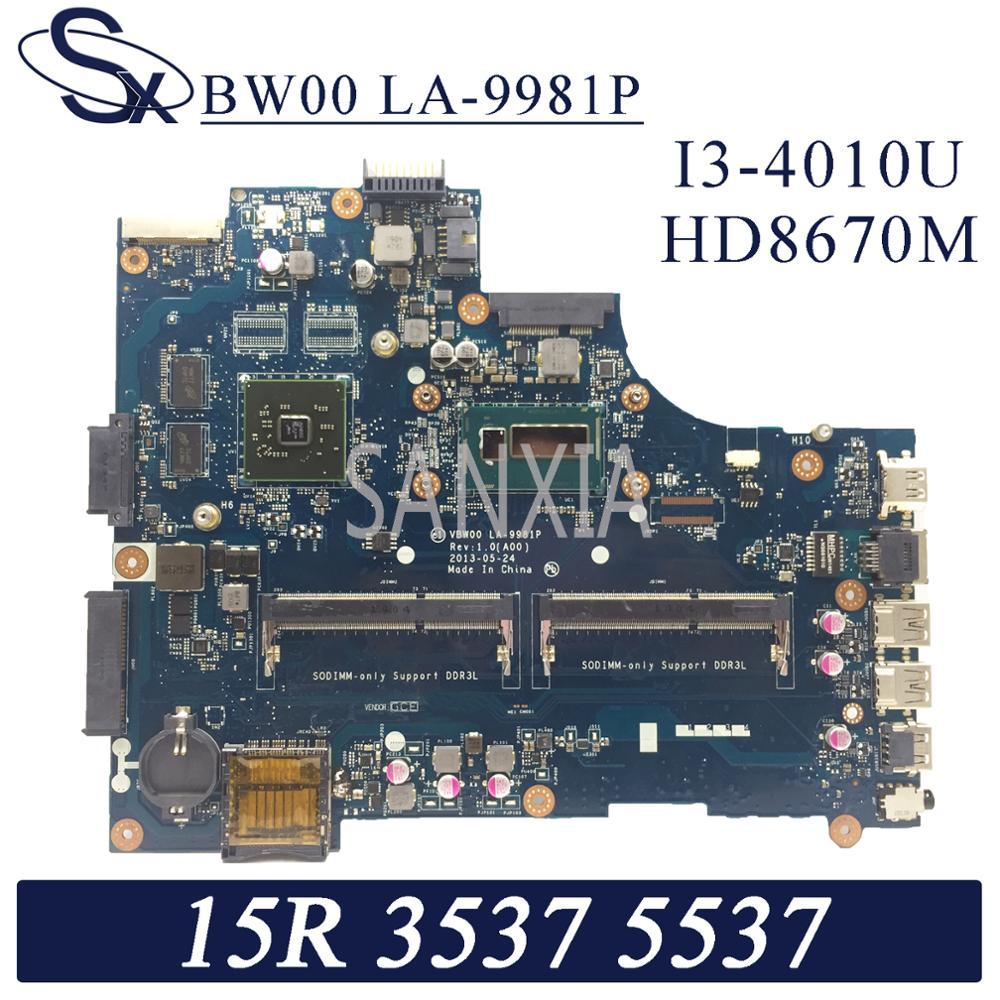 Материнская плата KEFU для ноутбука Dell Inspiron 15R-3537, 5537 оригинальная материнская плата, модель HD8670M
