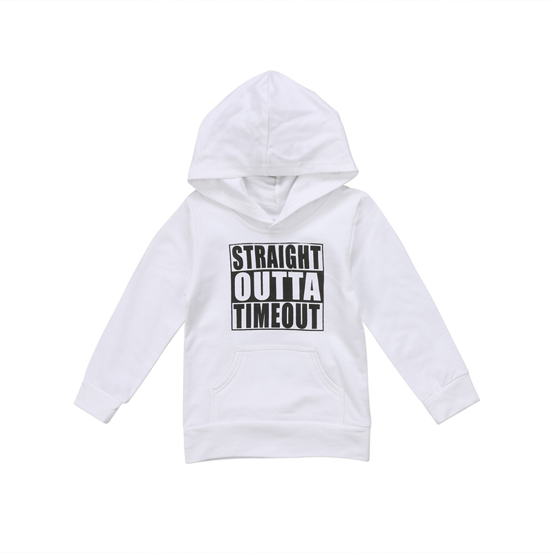 Pudcoco US Stock Newborn KIds Baby Boy Girl Clothes Hoodie Tops Hooded Sweatshirt Casual Outdoor Sport 1