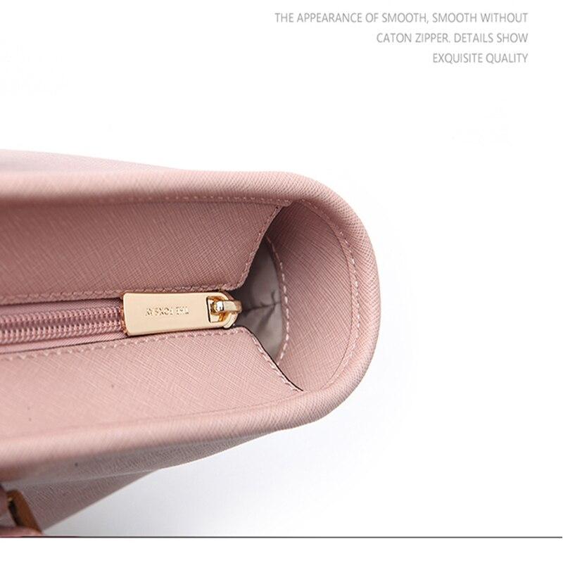 THEFOXSAY frauen Mode Casual Schulter Tasche Griff Tasche Tasche 6 Farben Dame Großen Kapazität Geldbörse Quaste Leder Weibliche Große tote - 5