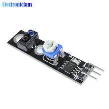 Seguidor de Linha Faixa Módulo Sensor de Reflexão 3Pin TCRT5000 Infravermelho Interruptor Do Sensor Obstacle Avoidance Módulo para Arduino