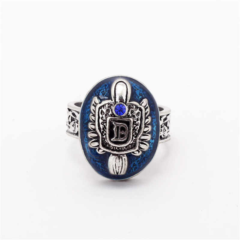 ZRM Fashion The Vampire Diaries Rings Elena Gilbert Daylight Rings Vintage Ring Fashion Movies Jewelry Cosplay Gifts