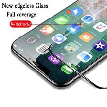 10H Anti Burst Vetro di Protezione Per iPhone 6s 7 8 6 Più Temperato Protezione Dello Schermo di Vetro Per iPhone 11 Pro X Xs Max Xr Sconfinato di Vetro