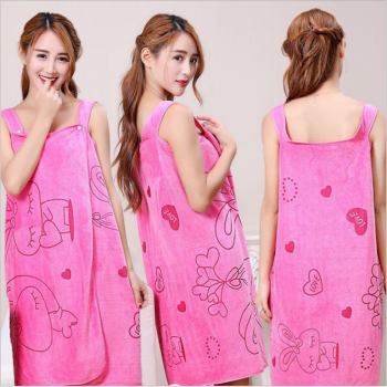 Microfiber soft bath towel fashion