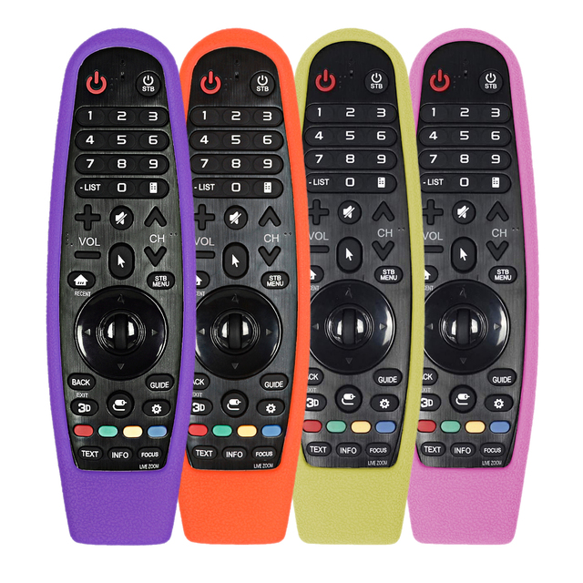 For LG AN MR600 AN MR650 AN MR18BA MR19BA Magic Remote Control Cases smart TV Protective Silicone Covers Shockproof