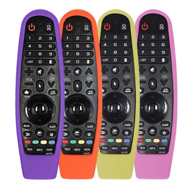 עבור LG AN MR600 AN MR650 AN MR18BA MR19BA קסם שלט רחוק חכם תיקי טלוויזיה מגן סיליקון מכסה עמיד הלם