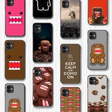 Cover-Hull Phone-Case Domo Kun Monster Black-Cover 12 Mini Cartoon for 5 5s 6/6s/7/8
