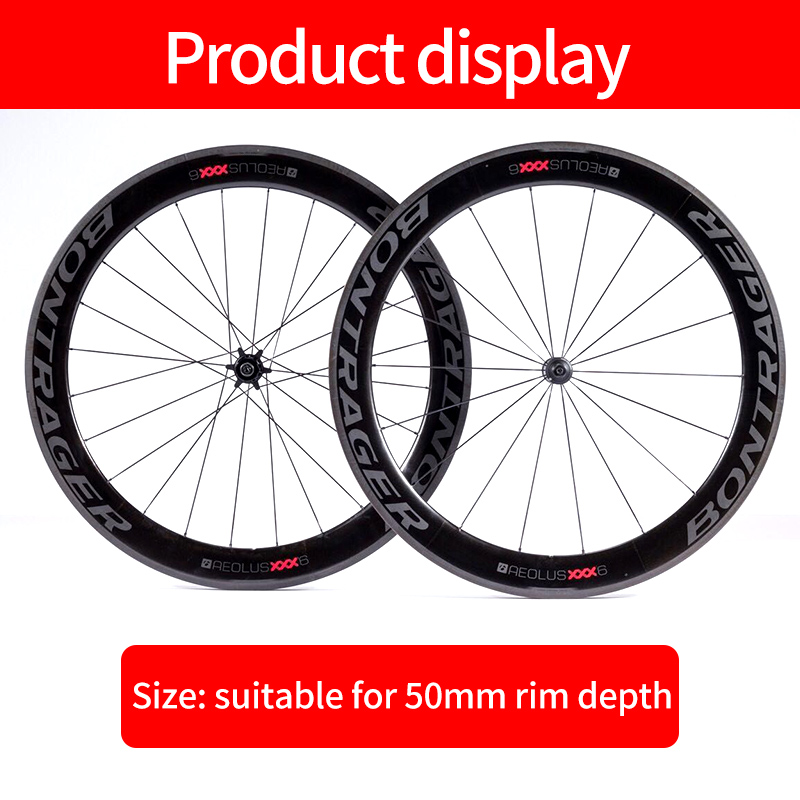 BONTRAGER Comp 5 Wheel Rim Decals Stickers for Road Bike Bicycle Decals 2 RIMS