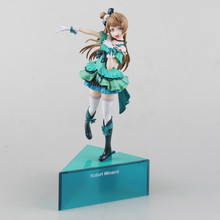 Anime love live Minami Kotori Birthday Project Ver PVC Action Figure Collectible Model doll toy 25cm 1 8 furyu japanese original anime figure love live rin hoshizora white wedding dress ver action figure collectible model toys